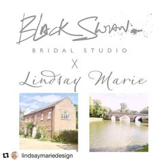 Black Swan, Brides, Place Cards, Place Card Holders, Studio, Instagram Posts, The Bride, The Black Swan