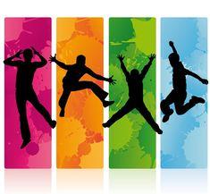 Sports Day Decoration, School Wall Decoration, Sports Day Banner, Pop Art Party, Dance Wallpaper, Kindergarten Design, School Murals, Graffiti Murals, Principles Of Art