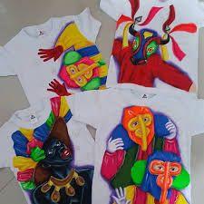 Resultado de imagen para camisetas de carnaval pintadas a mano