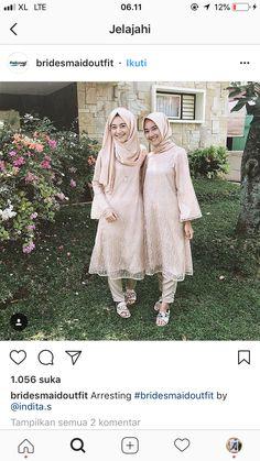 Hijab Gown, Hijab Dress Party, Model Dress Kebaya, Dress Pesta, Kebaya Muslim, Artsy Photos, Casual Hijab Outfit, Bridesmaid Outfit, Brokat