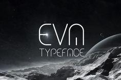 Eva Typeface by DesignSomething on Creative Market