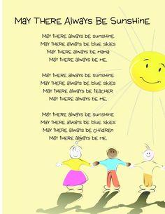 Kindergarten Graduation or End-of-the-Year Program Songs: Free Posters — Kindergarten Kiosk
