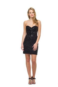 Confit - Vestido tomara que caia com bordado em toda sua extensão. #glam #fashion #cool #ootd #cute #style #trends #aboutalook