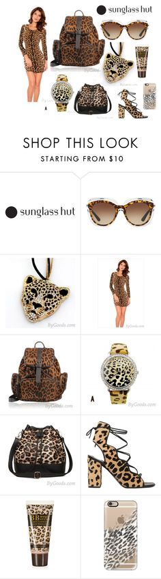"""Leopard Summer Style"" by bygoods ❤ liked on Polyvore featuring Dolce&Gabbana, Yves Saint Laurent, Casetify and shadesofyou"