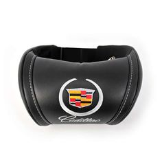 Cadillac - Universal Headrest Leather Auto Car Neck Rest Cushion Pillow. Car interior accessories the best gifts. With an embroidered logo. by Chekasinstore on Etsy