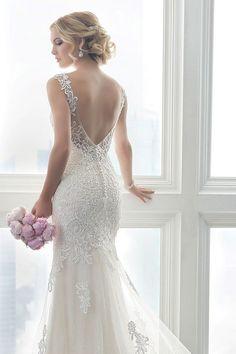 TOP 16 Vestido de Casamento com Decote nas Costas | Christina Wu