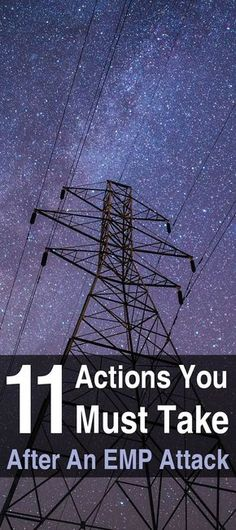 11 Actions You Must Take After an EMP Attack. Once you realize and become certain that an EMP attack has occurred, you'll want to take action immediately. If you are fast and efficient, you will be able to ascertain the severity of the situation and make life-saving decisions based on that information.