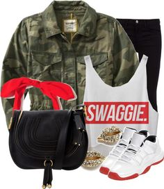 """""""Swaggie"""" by nenedopesauce ❤ liked on Polyvore"""
