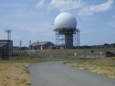 This abandoned radar station from the Cold War era now only broadcasts a seriously ominous air of isolation