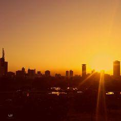 Nairobi city centre skyline at dawn | Mutua Matheka