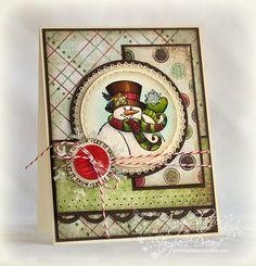 Pickled Paper Designs: JustRite 12 Weeks of Christmas Blog Hop #2
