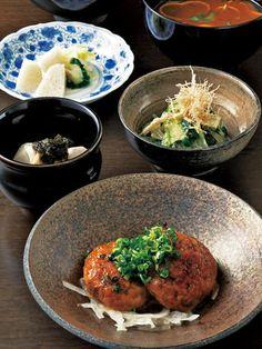 Tsukune Japanese meal