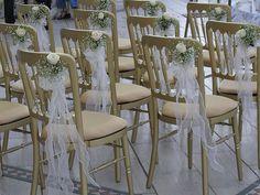Ideias - Faça você mesmo ( Ideias para casamento ): Decoração de cadeiras
