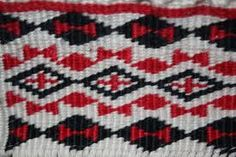 This is a cross stitched pattern and the main colors are red, white and black. The pattern weave has kind of vertical diamond shapes (Waharua kōpito) Ag Day, Maori Patterns, Flax Weaving, Finger Weaving, Maori Designs, Maori Art, Weaving Patterns, Main Colors, Diamond Shapes