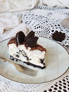 OREO CHEESECAKE ricetta torta fredda senza colla di pesce