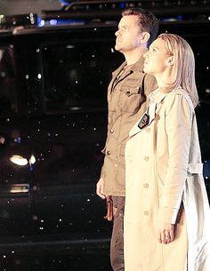 Fringe - Peter Bishop (Joshua Jackson) and Olivia Dunham (Anna Torv), tv series, photo