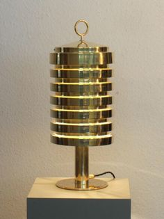 Bordslampa / Table lamp Hans Agne Jakobsson B99. Solid Brass heavy quality very early model