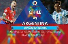 Chile vs Argentina Copa America cup Live Score Streaming Prediction 2015