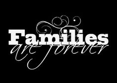 My Families Are Forever Printables in black and white (you can also still download the different colors)