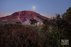 Mt. St. Helens full moon by KR Backwoods Photography (Kevin Russell)