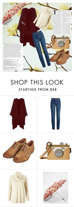 """""""Untitled #46"""" by simonidapesic ❤ liked on Polyvore featuring The Row, Balmain, Alexander McQueen, Barbour, Charlotte Olympia, Miss Selfridge and Cath Kidston"""
