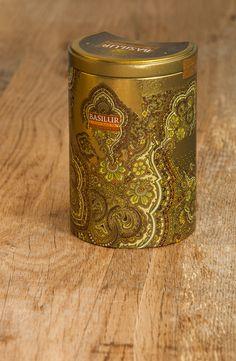 De la misma colección Oriental, Cara A de la lata Golden Crescent.