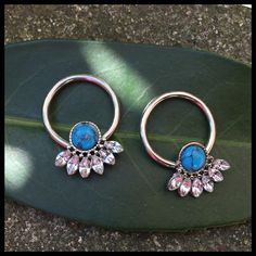 Tons of new beautiful turquoise Jewelry now in stock @Artistic Tattoo & Piercing, Aalborg, Denmark