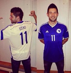 FlagWigs: New Bosnia's World Cup 2014 Soccer jerseys Footbal...
