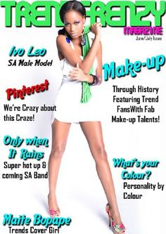 TrendFrenzy Magazine Give it a read.it's free! Models Makeup, Covergirl, Make Up, Magazine, History, Reading, Hot, Check, Free