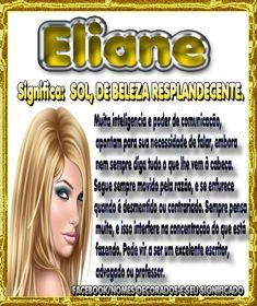 Eliane: Sol, de beleza resplandecente