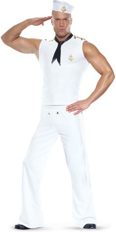 Seafaring Sailor Male Adult Costume from BuyCostumes.com