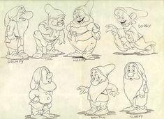 sketch seven dwarfs - Pesquisa Google