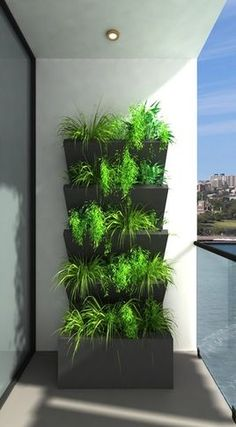 Great idea. Nature and modern designs coming together.