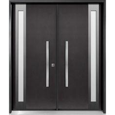 doorshopperscom fiberglass entry double door diagano series di22 modern front22 door