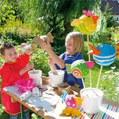 basteln mit kindern fur garten – siddhimind, Garten und erstellen