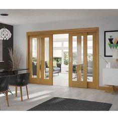 Choose Internal Folding Sliding Doors Interior for Perfect Open Plan Design #homedecor #interiordesign