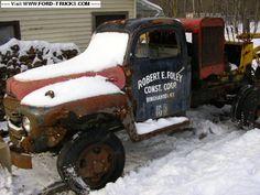 1950 Ford F550+ 4x4-1950 f500 4x4 coleman conversion