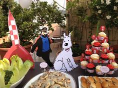 Tintin et Milou Birthday Party - by Papier Gourmet