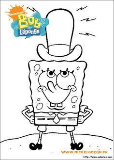 13 Mewarnai Gambar Spongebob Bonikids Coloring Page Pinterest