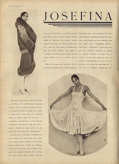 This coat is from the early '20's and was the Bomb. Modeled by Ms. Josephine Baker.