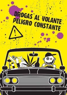 Drogas al volante, peligro constante