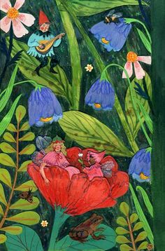 Phoebe Wahl: The full growth chart image was showing up fuzzy on my computer for some reason, so here's a version broken into three pieces! Hopefully that will read better. Phoebe Wahl for Taproot magazine, Painting Inspiration, Art Inspo, Pinturas Art Deco, Instagram Artist, Children's Book Illustration, Aesthetic Art, Cute Art, Illustrations Posters, Folk Art