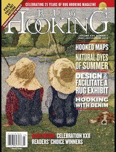 Rug Hooking Magazine Jun-Jul-Aug 2013