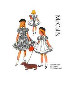 Vintage 1950s McCalls 3815 Designer Helen by PinkPolkaDotButton, $38.00