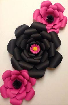 Kate Spade Inspired Paper Flower Set Kate by PaperPetalsByJasmine