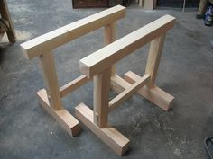 Skill Builder: Make A Pair of Shop Horses to Practice Your Woodworking Joinery