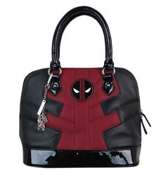 Class it up with the Deadpool Suit Up Handbag! Features a Deadpool charm and symbol emblem, who knew the Merc with a Mouth could be this fancy, huh? Buy now!