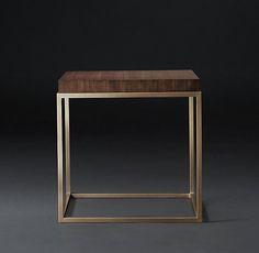 """Nicholas Square Side Table DIMENSIONS 22"""" sq., 19""""H 950"""