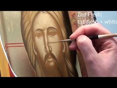 Egg tempera Iconography video demonstration with notes by Julia Bridget Hayes: Painting the Face of Christ. Amazing videos for Artists on PaintingTube! How To Make Eggs, Earth Pigments, Painting Courses, Archangel Michael, Learn To Paint, Ancient Art, Art School, Art Tutorials, Christ