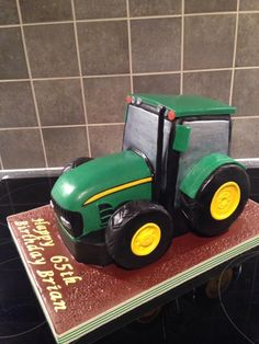 Had great fun making this 3D tractor was so happy with how it came out.